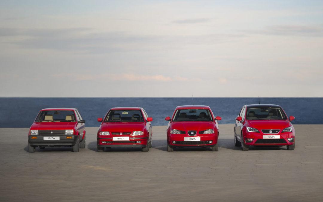 Reportaje: 30 años del lanzamiento del SEAT Ibiza