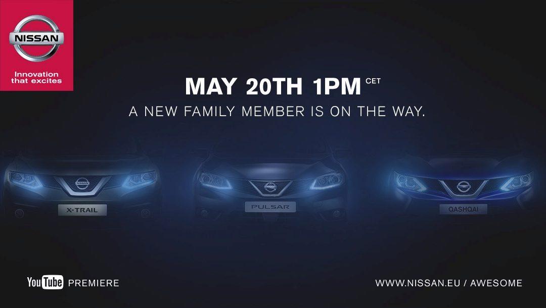 El 20 de mayo, Nissan desvelará el nuevo Pulsar