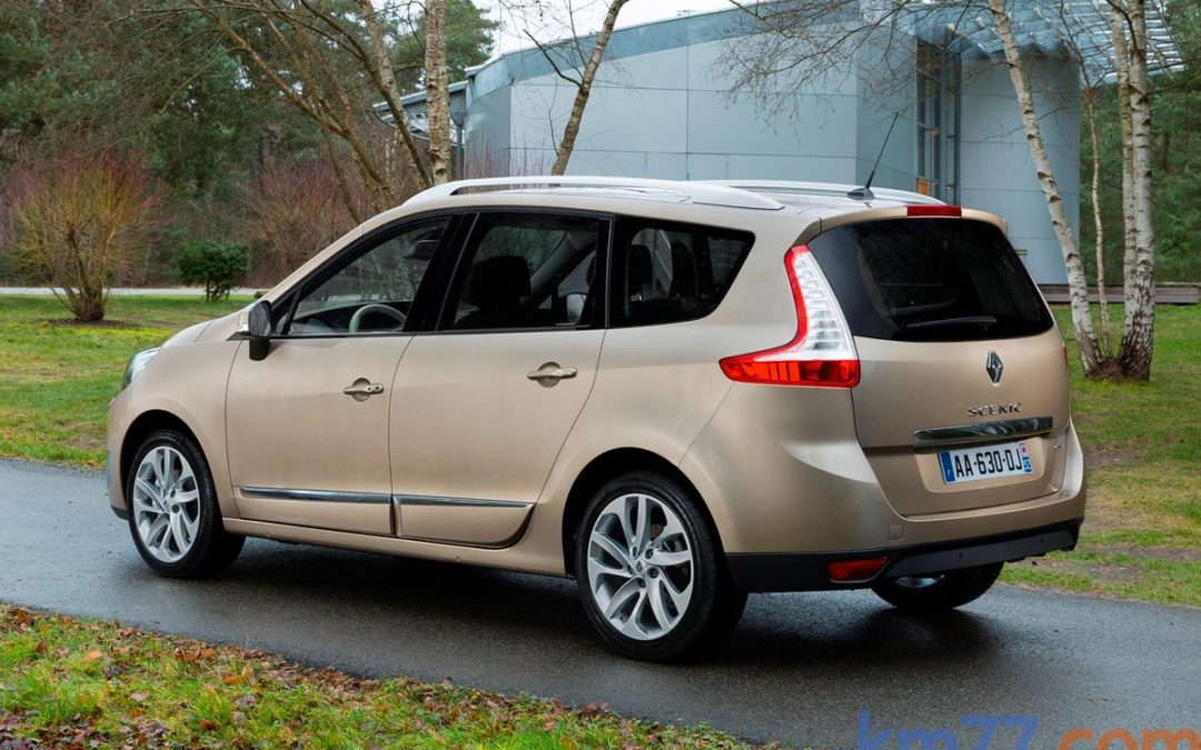Cambios en la gama Renault Scénic