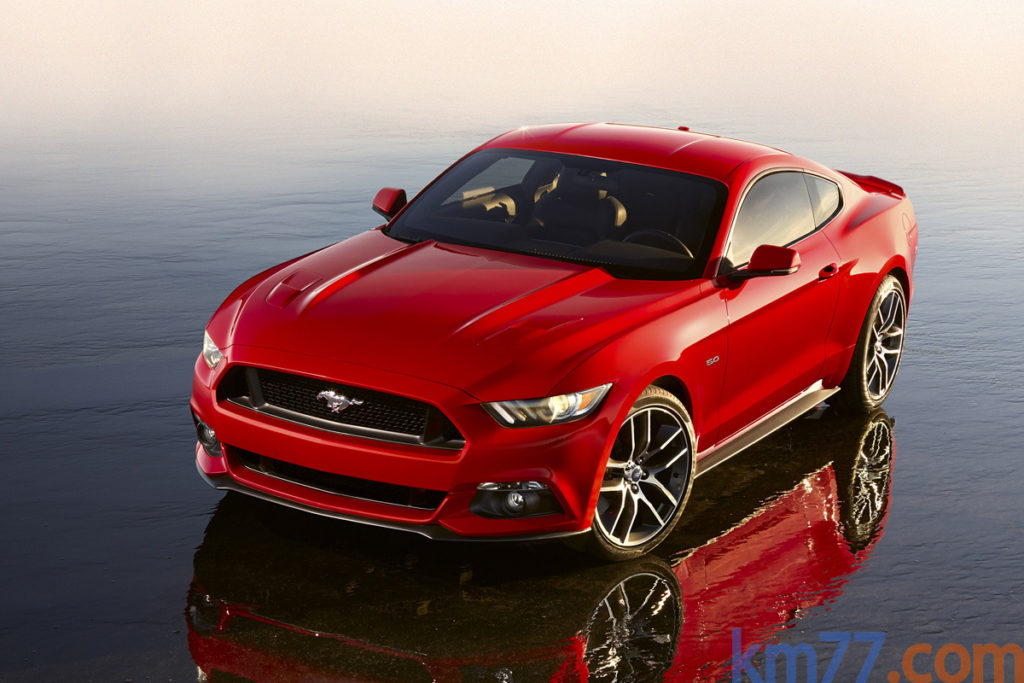 Ford Mustang 2015 frontal