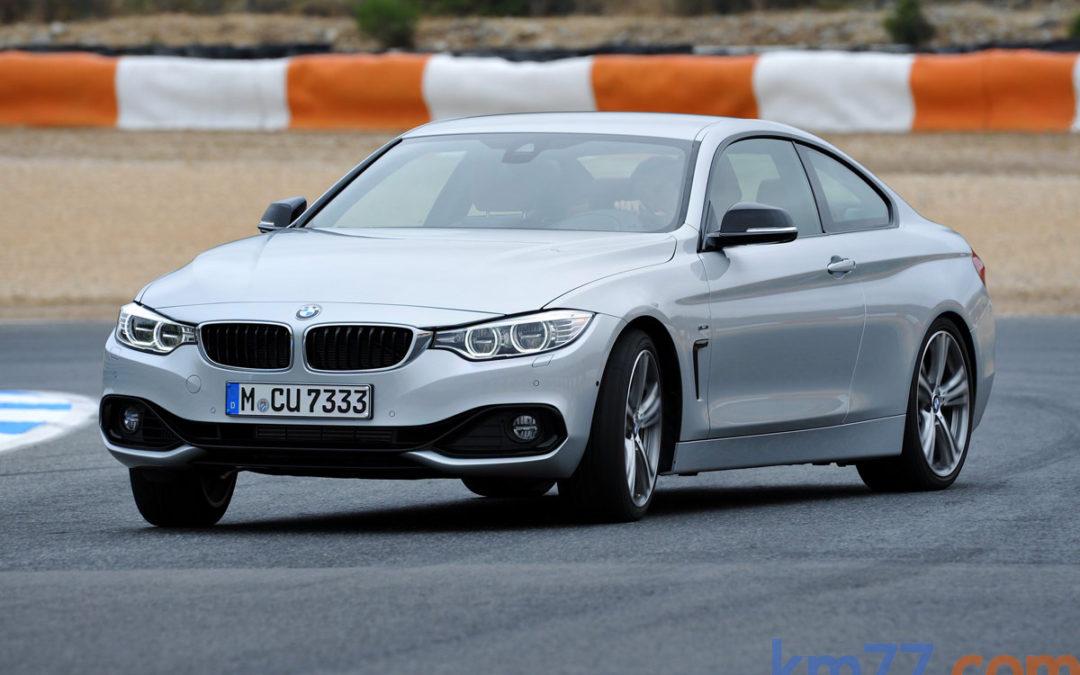Nuevas versiones en el BMW Serie 4 Coupé