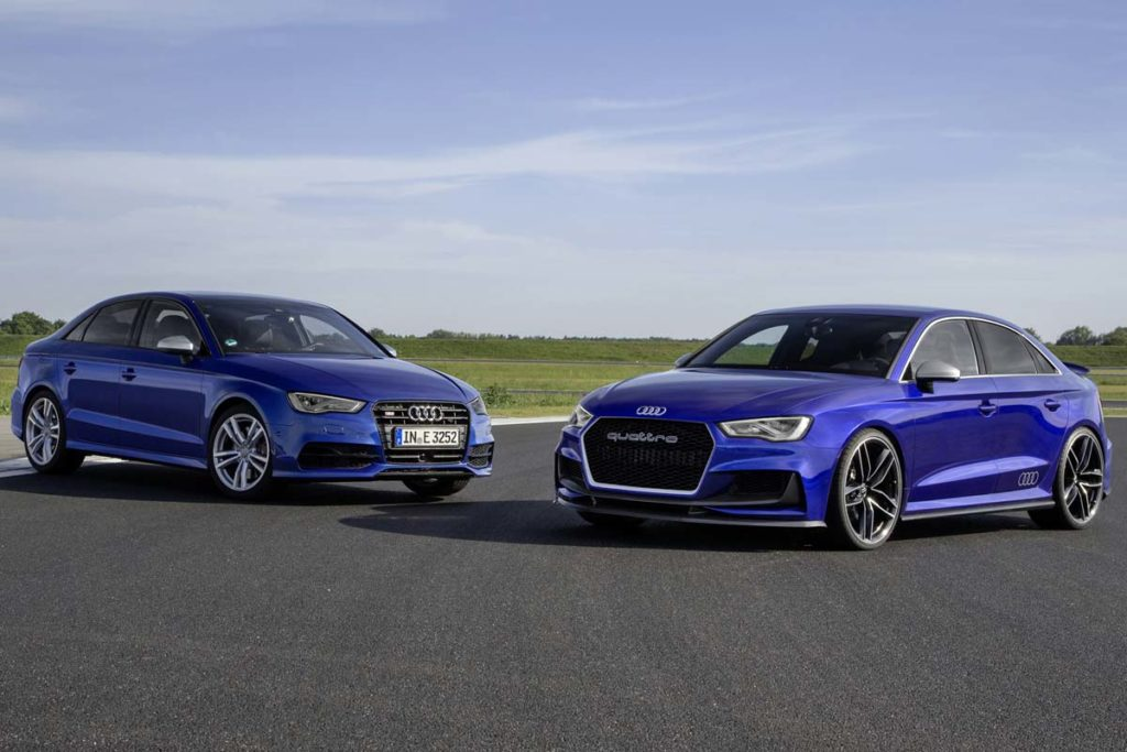 Audi A3 clubsport quattro concept / Audi S3 Limousine