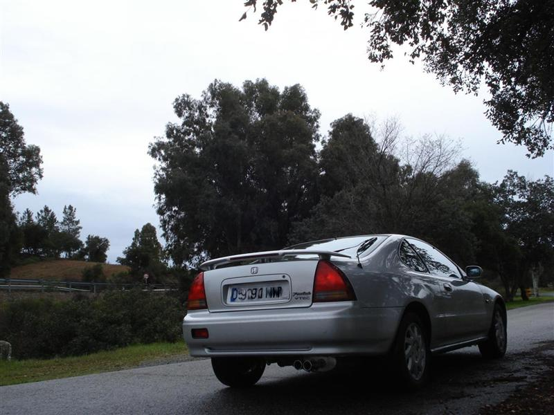 Honda Prelude 2.2 VTEC . Imagen posterior
