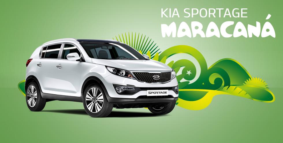 El KIA Sportage también disponible con la edición especial Maracaná