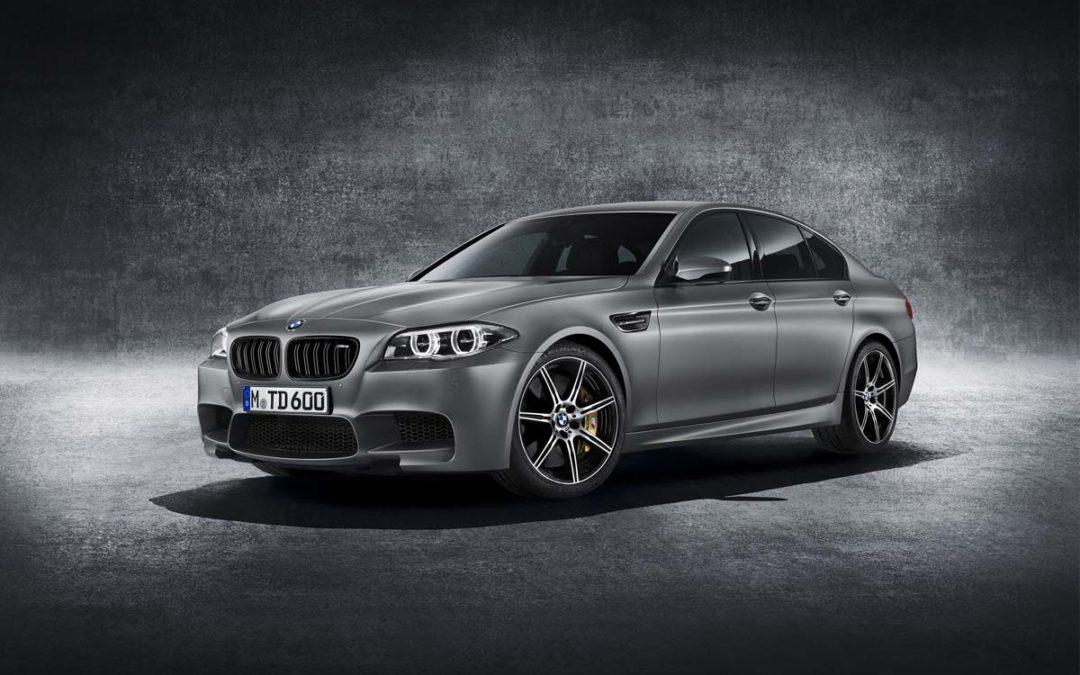 BMW M5 30 Aniversario. 300 unidades con 600 CV de potencia