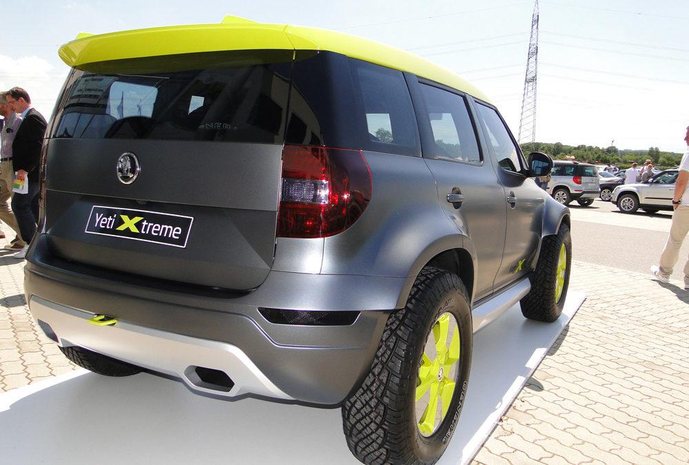 El interior del Škoda Yeti Xtreme