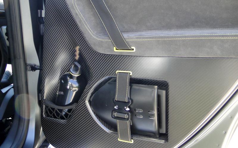 Škoda Yeti Xtreme. Cara interior de las puertas