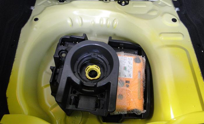 Citroën C4 Cactus. Kit de reparación de pinchazos