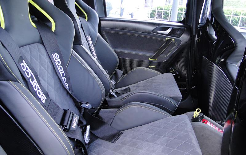 Škoda Yeti Xtreme. Asientos delanteros