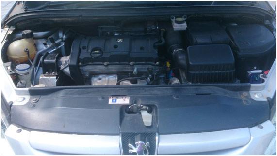 PEUGEOT 307 CC 1.6 110CV. Motor