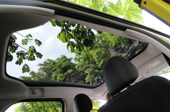 Citroën C4 Cactus. Techo panorámico
