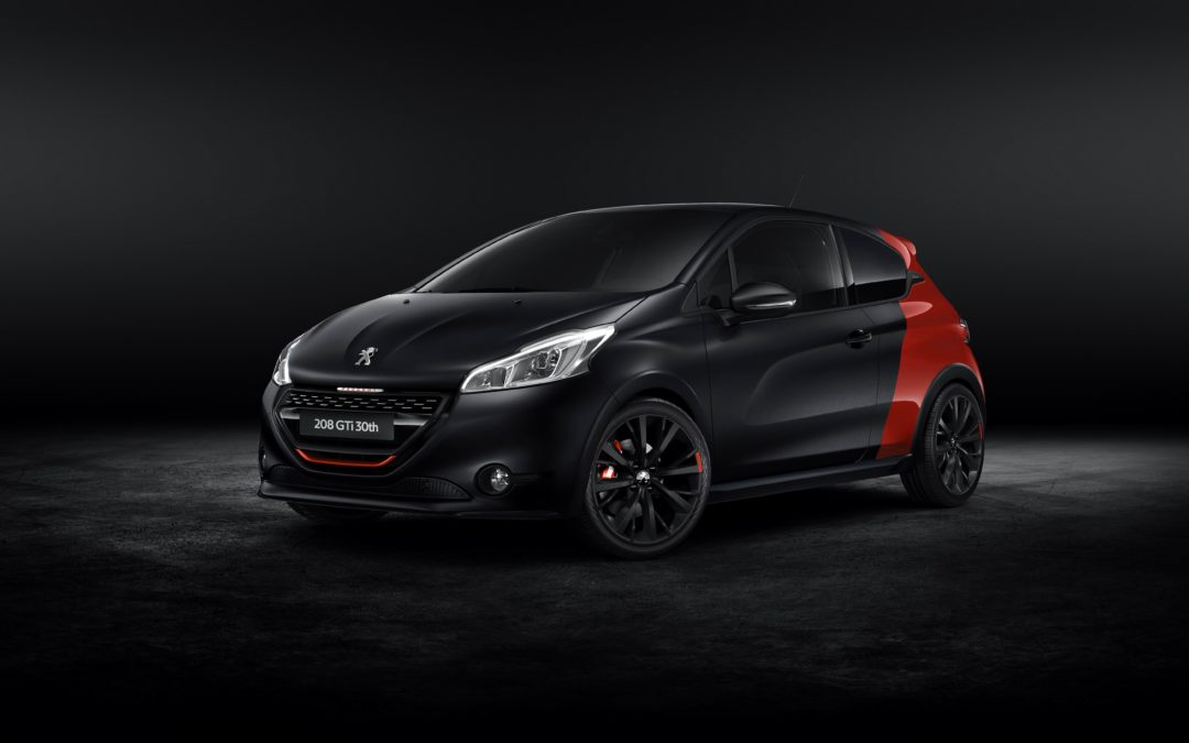 Peugeot presenta en Goodwood el 208 GTi 30th