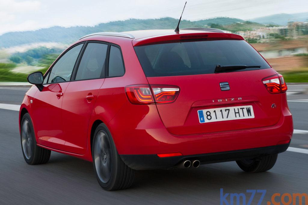 SEAT Ibiza ST FR ITECH 30 Aniversario. km77.com