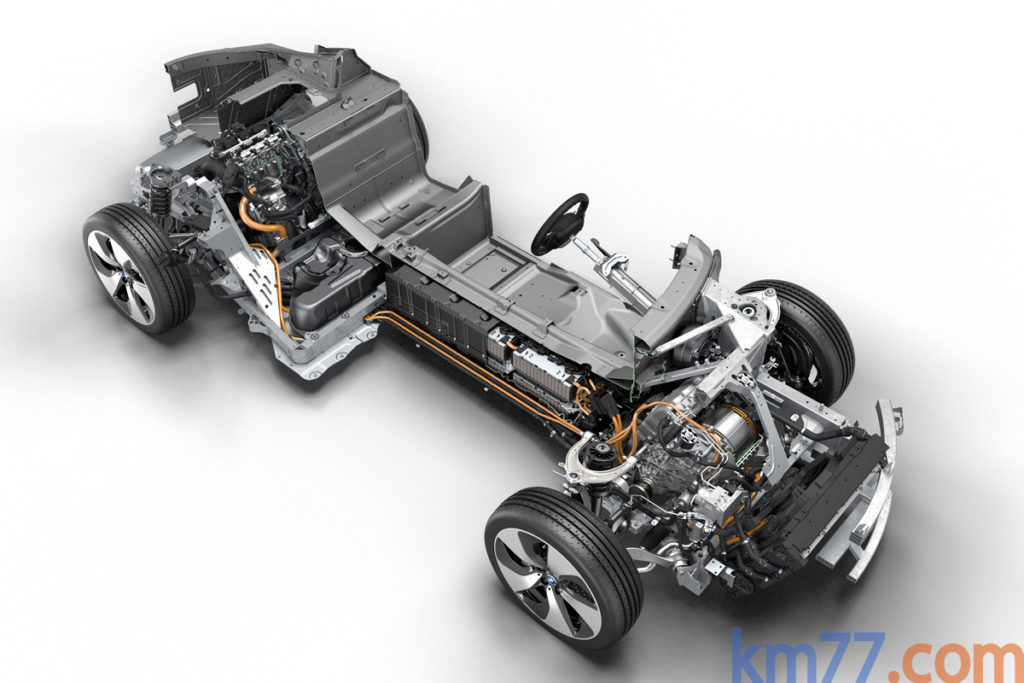 BMW i8 eléctrico