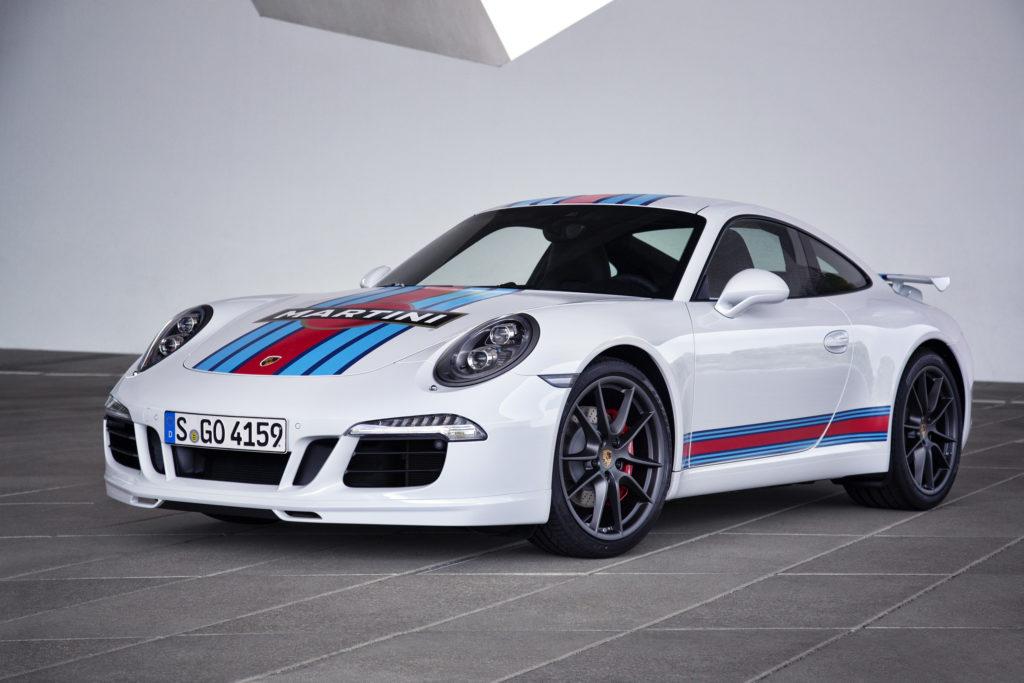 911 carrera s martini edition
