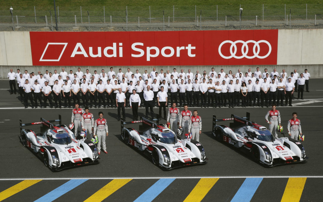 El vigente campeón: Audi R18 e-tron quattro
