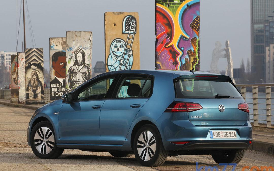 Volkswagen pone a la venta el e-Up! y e-Golf (en 11 concesionarios)