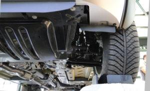 Fiat Panda Cross. Suspensión delantera