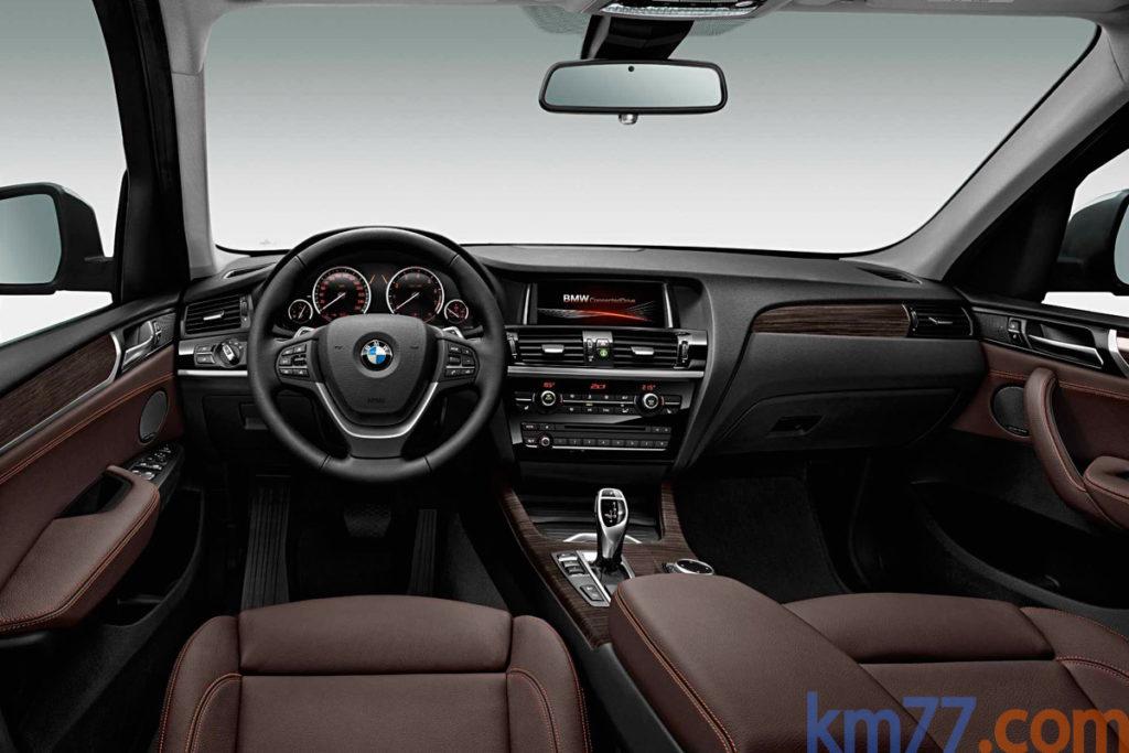 BMW X3 2014 interior