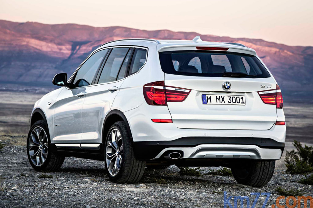 BMW X3 2014 posterior
