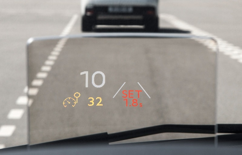 Head up display peugeot 3008 _2