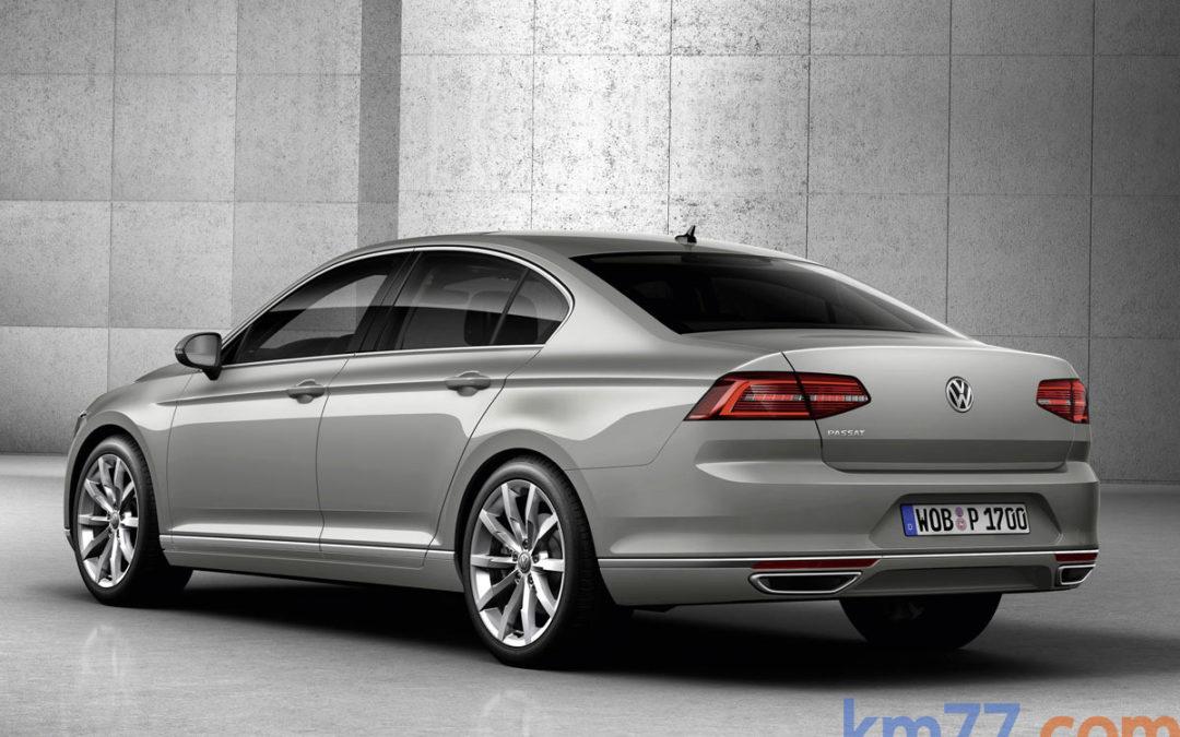 Nuevo Volkswagen Passat, en movimiento