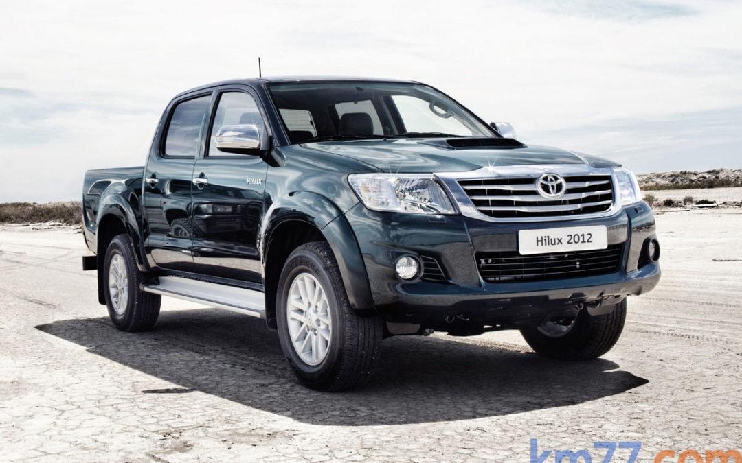 Toyota Hilux, ahora con diferencial trasero bloqueable manualmente
