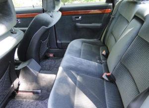 Audi 100 TDI. Asientos posteriores