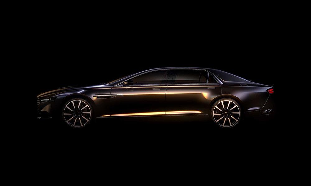 Aston Martin rescata la terminación Lagonda para su nueva berlina de lujo