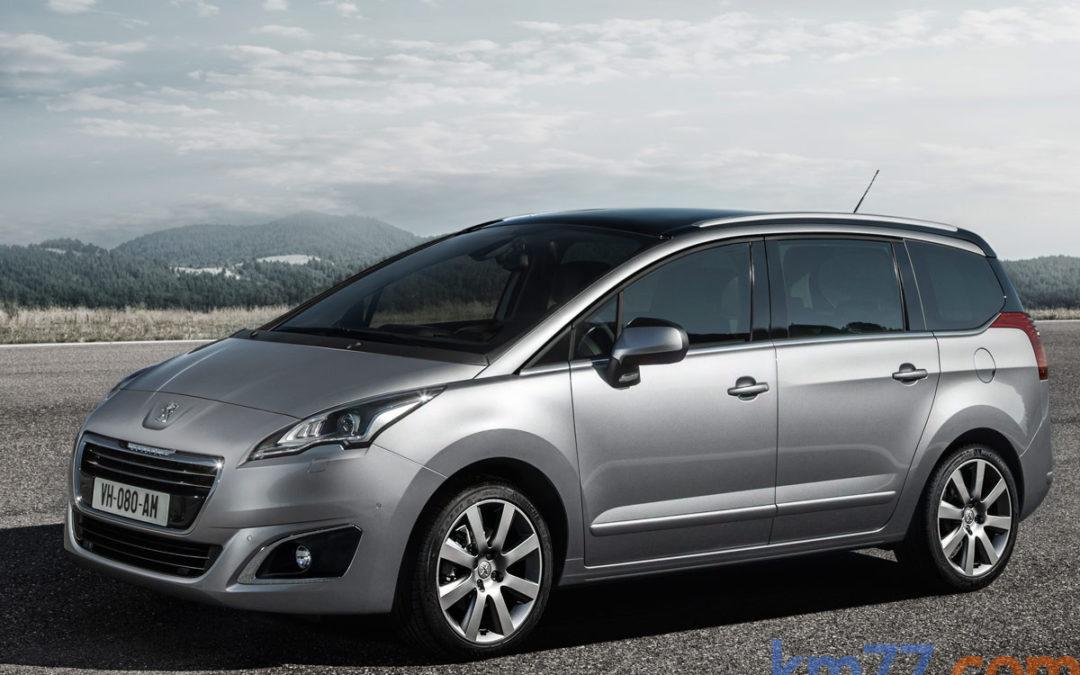 Peugeot 5008, ahora con motor BlueHDi 120