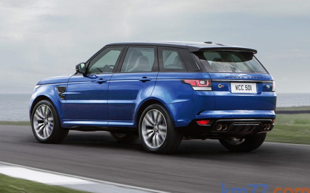 El nuevo Range Rover Sport SVR en movimiento
