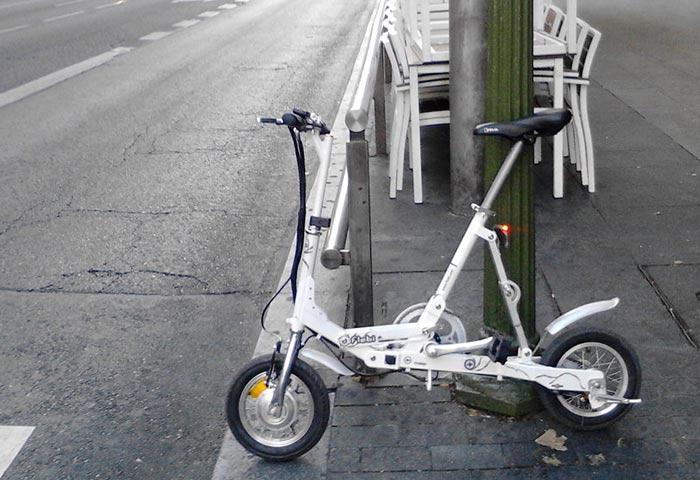 Moviéndome en bici eléctrica