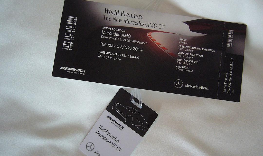 Presentación Mercedes-AMG GT