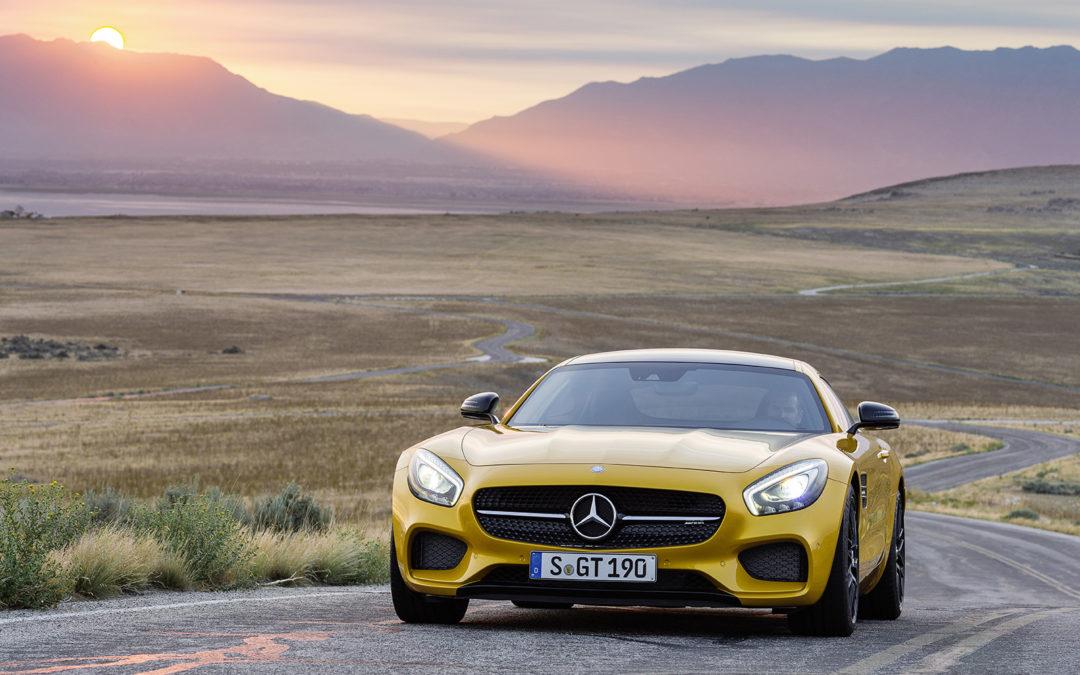 Mercedes-AMG GT, fondos de pantalla y vídeo