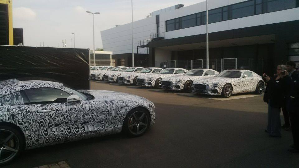 En directo (y en diferido): Presentación del Mercedes-AMG GT