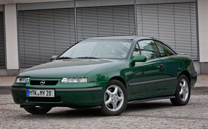 Antiguos coupés populares de 4 plazas: 25 Aniversario del Opel Calibra