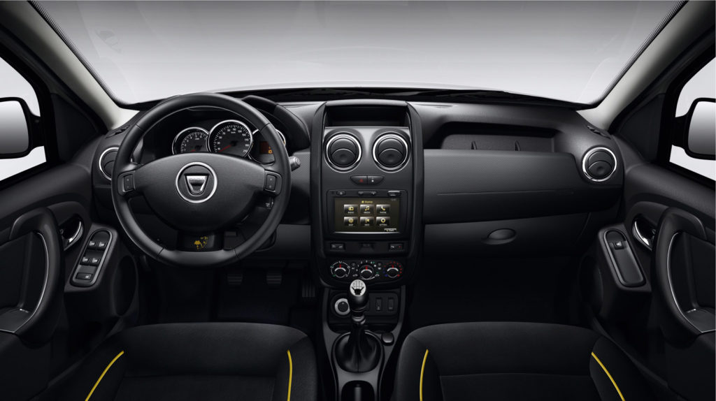 Dacia Duster Air Interior