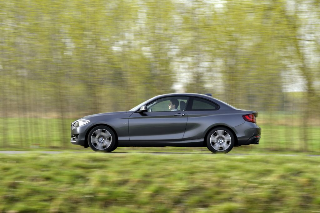 BMW 220d Coupé, Mineral Grey Metallic, Sport Line