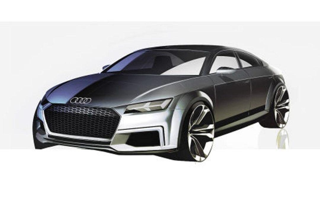 Primeras imágenes del Audi TT Sportback