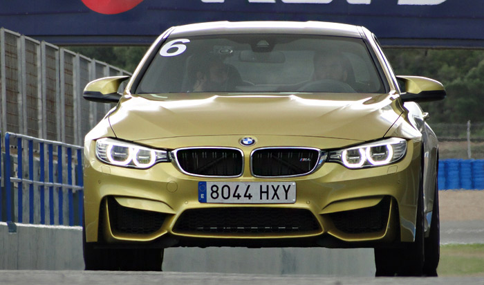 BMW Driving Experience. BMW M4 Coupe