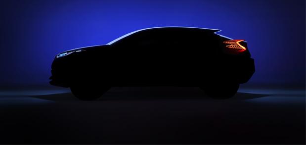 Toyota presentará en París el C-HR Concept
