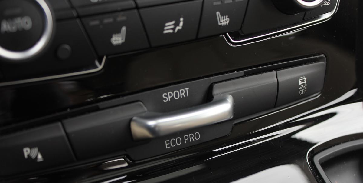 BMW Serie 2 Active Tourer. Ecopro, sport, normal