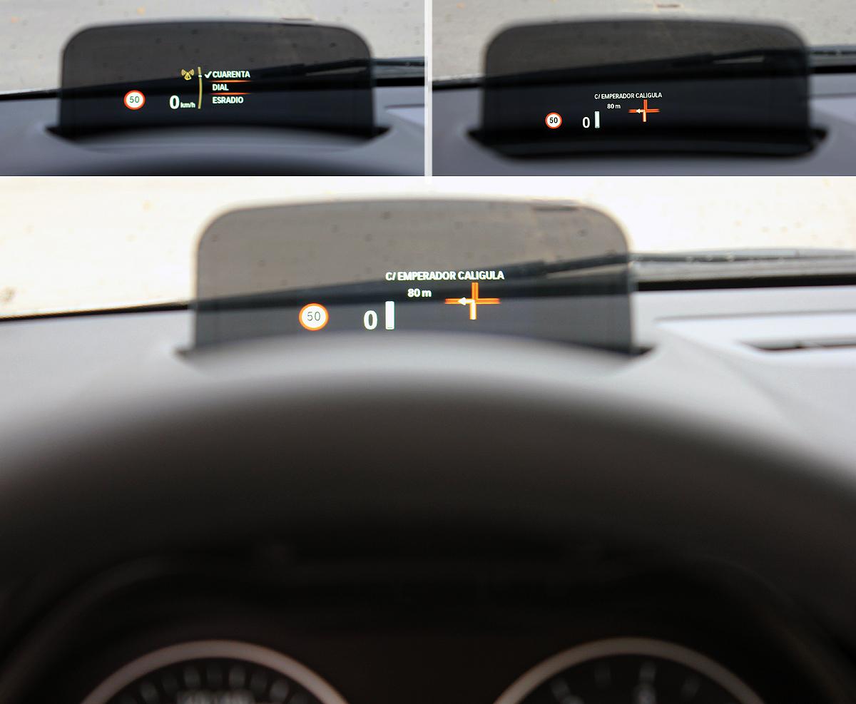 BMW Serie 2 Active Tourer. Head-up Display