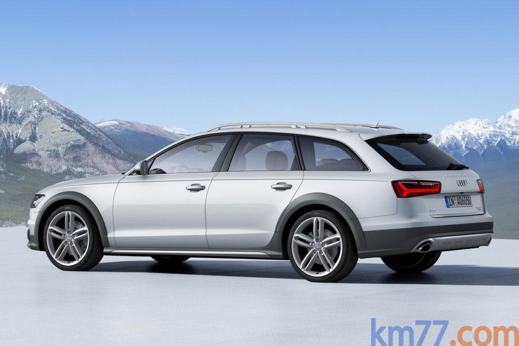 2015 Audi A6 Allroad exterior
