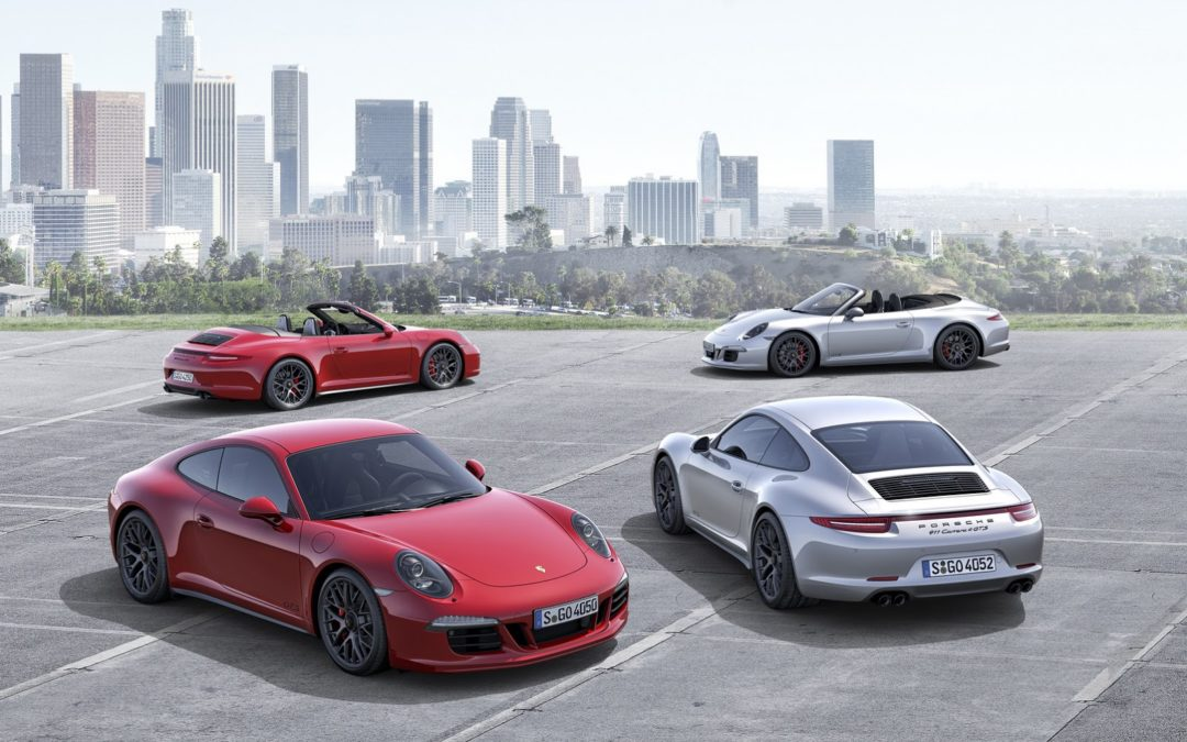Porsche 911 Carrera GTS en movimiento