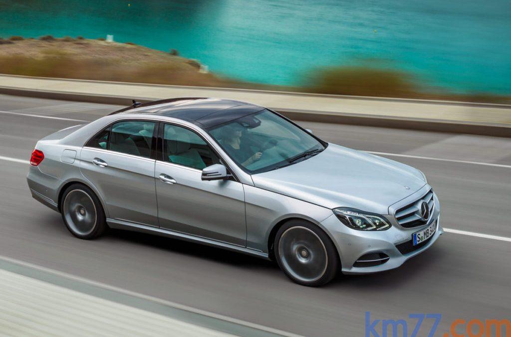 Ligeros cambios en la gama Clase E de Mercedes-Benz