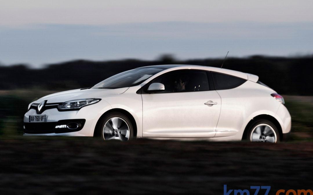Ligeros cambios en la gama Renault Mégane Coupé