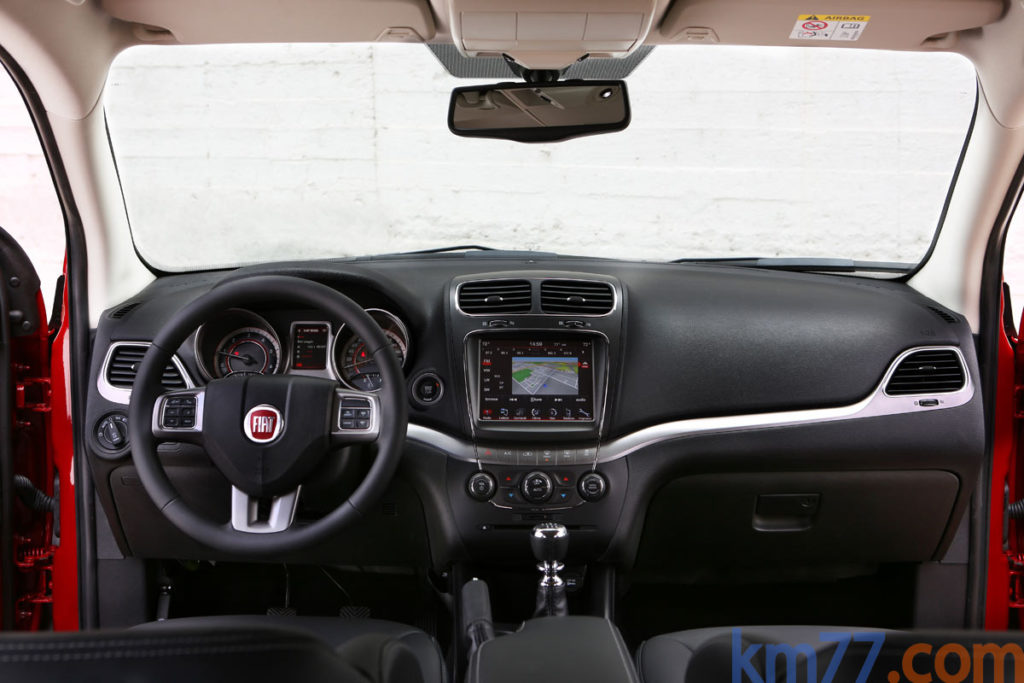 Interior Fiat Freemont Cross