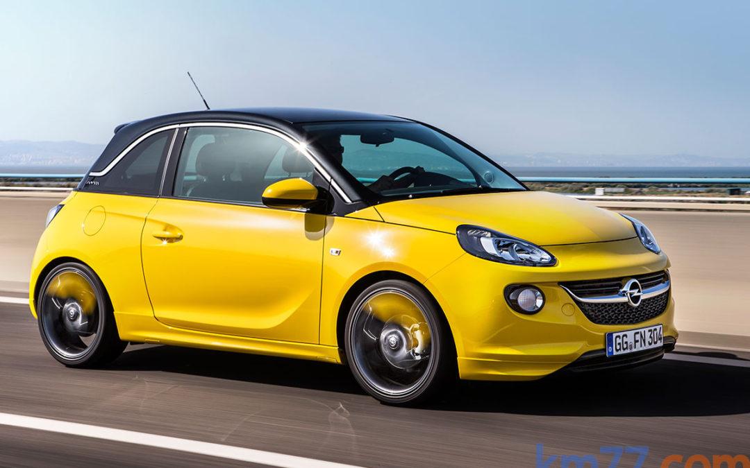 Nuevas versiones para el Opel ADAM