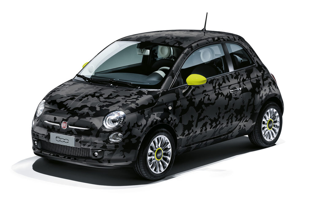 Fiat-500-Camouflage